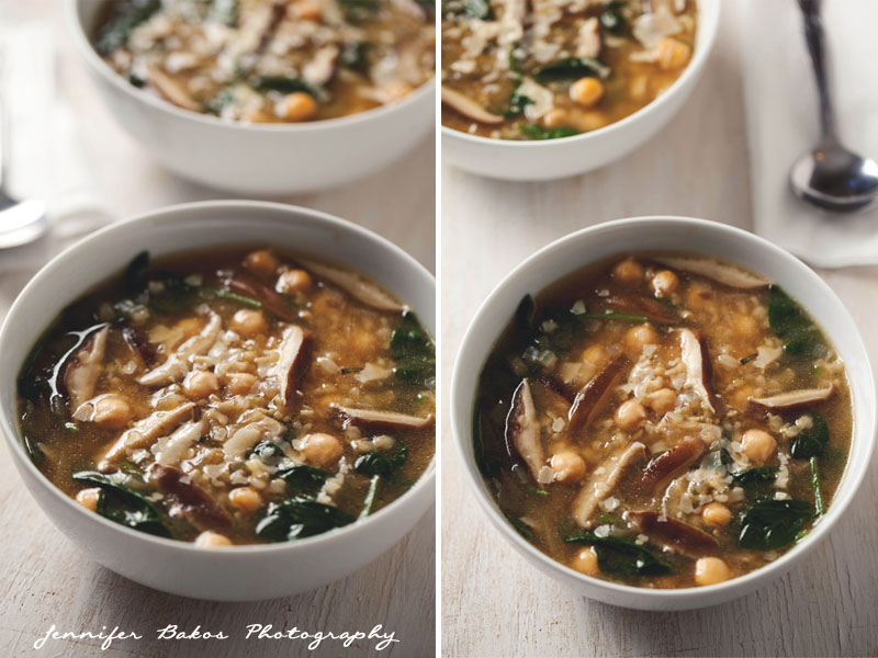 Hearty Spinach and Chickpea Soup | NH Food and Lifestyle ...