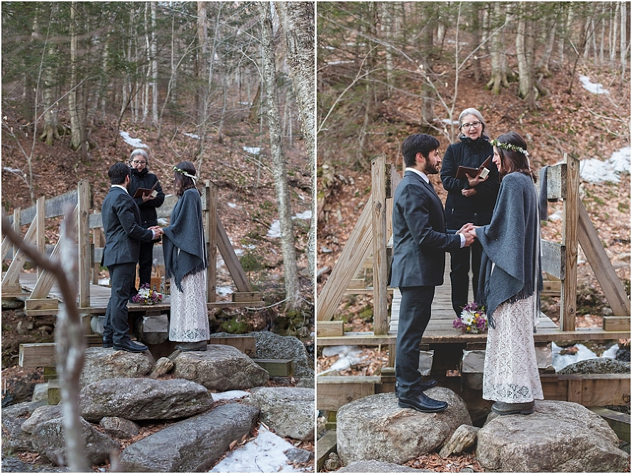 elopement, mountain elopement, woods elopement, small wedding, bride and groom, cardigan mountain, white mountains, new hampshire, new hampshire wedding photographer, new hampshire elopement, white mountains elopement, AMC lodge, AMC trails, hiking, hike nh, NH Hikes, wilderness, forest, woods wedding, wedding photographer, new england,